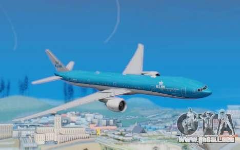 Boeing 777-300ER KLM - Royal Dutch Airlines v5 para GTA San Andreas