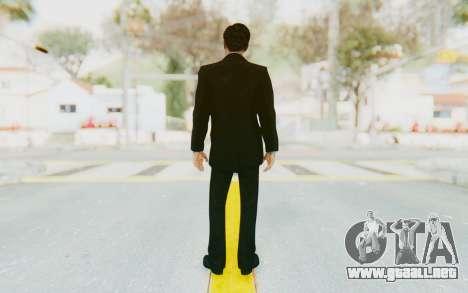 Mafia 2 - Vito Scaletta Tuxedo para GTA San Andreas tercera pantalla
