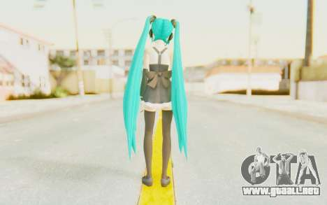 MMD Hatsune Miku para GTA San Andreas tercera pantalla