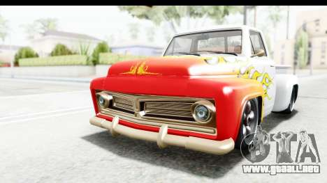 GTA 5 Vapid Slamvan Custom IVF para vista inferior GTA San Andreas