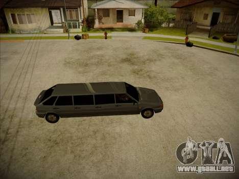 VAZ 2114 Devastadora HQ model para GTA San Andreas left