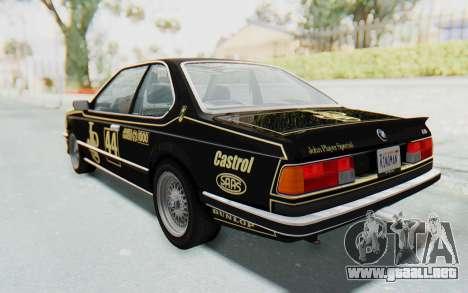 BMW M635 CSi (E24) 1984 HQLM PJ3 para GTA San Andreas