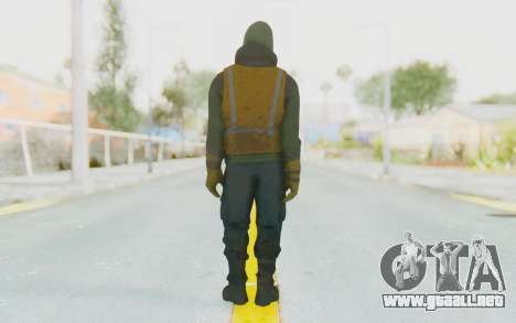 The Division Cleaners - Shield para GTA San Andreas tercera pantalla