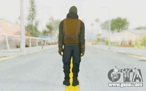 The Division Cleaners - Shield para GTA San Andreas tercera pantalla