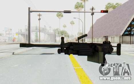 FN Minimi M249 Para para GTA San Andreas segunda pantalla
