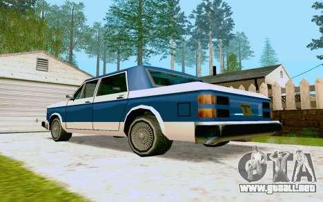 Bobcat Sedan para la visión correcta GTA San Andreas