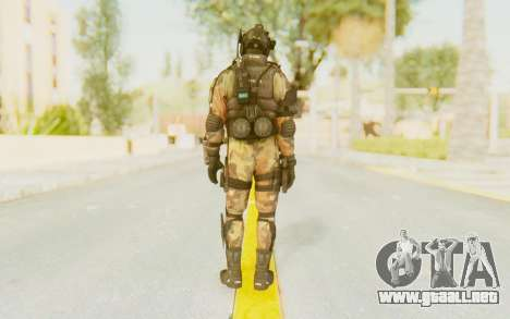 Federation Elite Assault Woodland-Flora para GTA San Andreas tercera pantalla