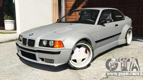 GTA 5 BMW M3 (E36) Street Custom volante