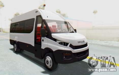 Iveco Daily Minibus 2015 para la visión correcta GTA San Andreas