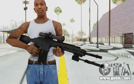 CoD: MW3 - Remington RSASS para GTA San Andreas