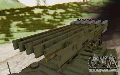 MGSV Phantom Pain ZHUK APC Tank para la visión correcta GTA San Andreas