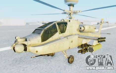 AH-64 Apache Marines para la visión correcta GTA San Andreas