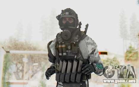 Federation Elite SMG Arctic para GTA San Andreas