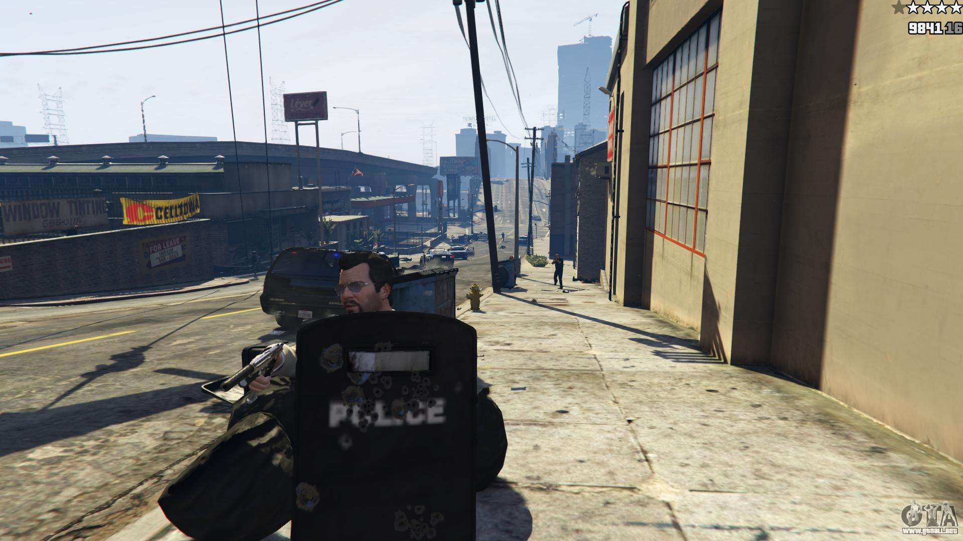 Shield mod 0 2 para gta 5 for Cuarto personaje gta 5