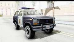 Ford Bronco 1982 Police para GTA San Andreas