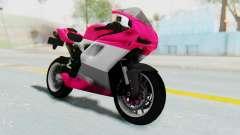 Ducati 1098R High Modification para GTA San Andreas