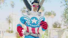 Marvel Heroes - Capitan America Sam Wilson