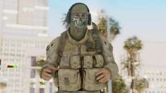CoD MW2 Ghost Model v1 para GTA San Andreas