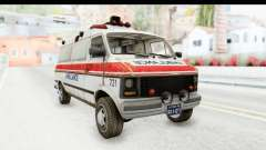 MGSV Phantom Pain Ambulance para GTA San Andreas