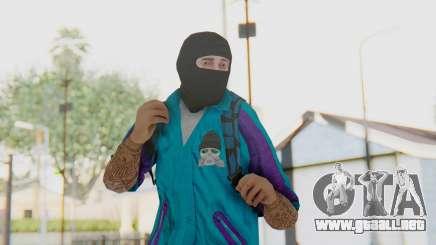Robbery Skin para GTA San Andreas