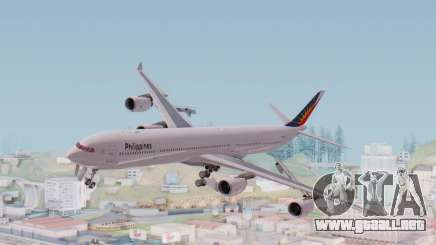 Airbus A340-600 Philippine Airlines para GTA San Andreas