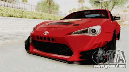 Toyota GT86 Drift Edition para GTA San Andreas