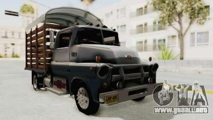 Chevrolet 56 Mini C.O.E. para GTA San Andreas