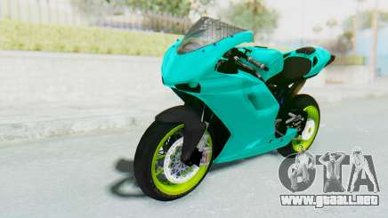 Ducati 1098R Streetrace para GTA San Andreas