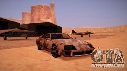 Camo. para GTA San Andreas