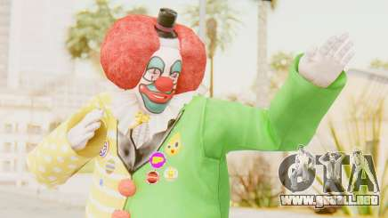 Dead Rising - Adam Macintyre The Clown para GTA San Andreas