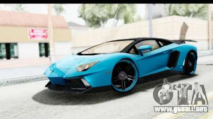Lamborghini Aventador LP700-4 Novitec Torado para GTA San Andreas