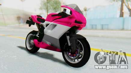 Ducati 1098R High Modification para GTA San Andreas