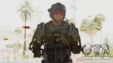 CoD Advanced Warfare ATLAS Soldier 2 para GTA San Andreas