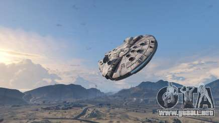 Star Wars Millenium Falcon 5.0 para GTA 5