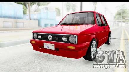 Volkswagen Golf Citi 1.8 1998 para GTA San Andreas