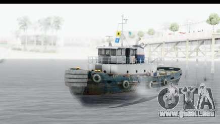 GTA 5 Buckingham Tug Boat v2 para GTA San Andreas