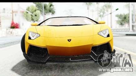 Lamborghini Aventador LP700-4 LB Walk para GTA San Andreas