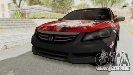 Honda Accord 2011 Hatsune Miku Senbonzakura para GTA San Andreas