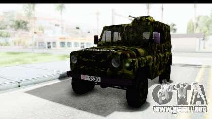 UAZ-469 de la policía Militar de Serbia para GTA San Andreas