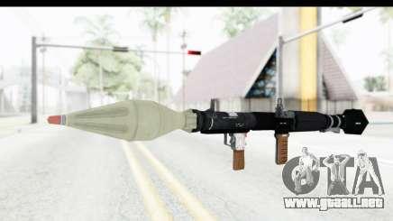 GTA 5 Shrewsbury Rocketlauncher para GTA San Andreas