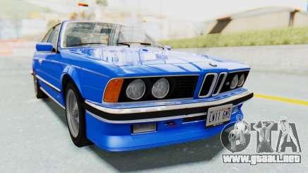 BMW M635 CSi (E24) 1984 HQLM PJ1 para GTA San Andreas