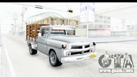 Chevrolet 3100 Diesel v1 para GTA San Andreas