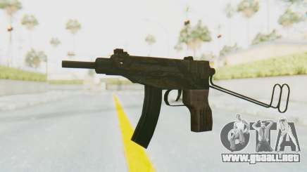 VZ-61 Skorpion Unfold Stock Tiger Stripes Camo para GTA San Andreas