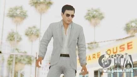 Mafia 2 - Vito Scaletta Madman Suit White para GTA San Andreas