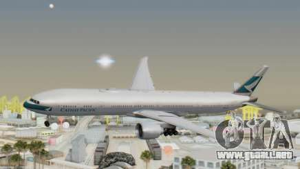 Boeing 777-300ER Cathay Pacific Airways v1 para GTA San Andreas