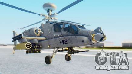 AH-64 Apache Marines para GTA San Andreas