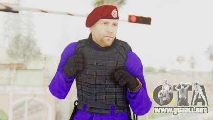 Bahrain Officer para GTA San Andreas
