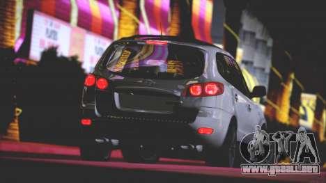 Hyundai Santa Fe Stock para la vista superior GTA San Andreas