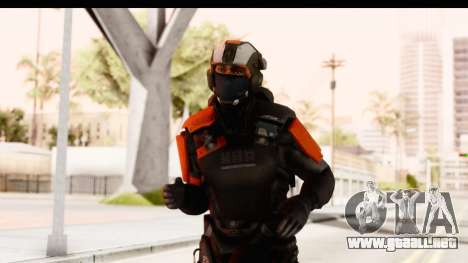 Homefront The Revolution - KPA v3 Black para GTA San Andreas