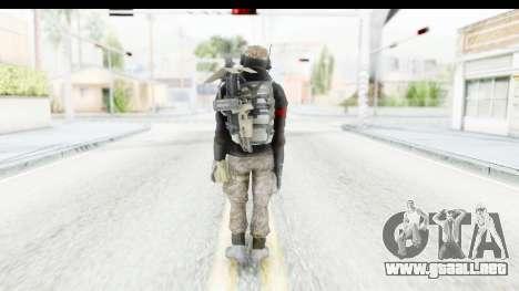 The Division Last Man Battalion - Engineer para GTA San Andreas tercera pantalla